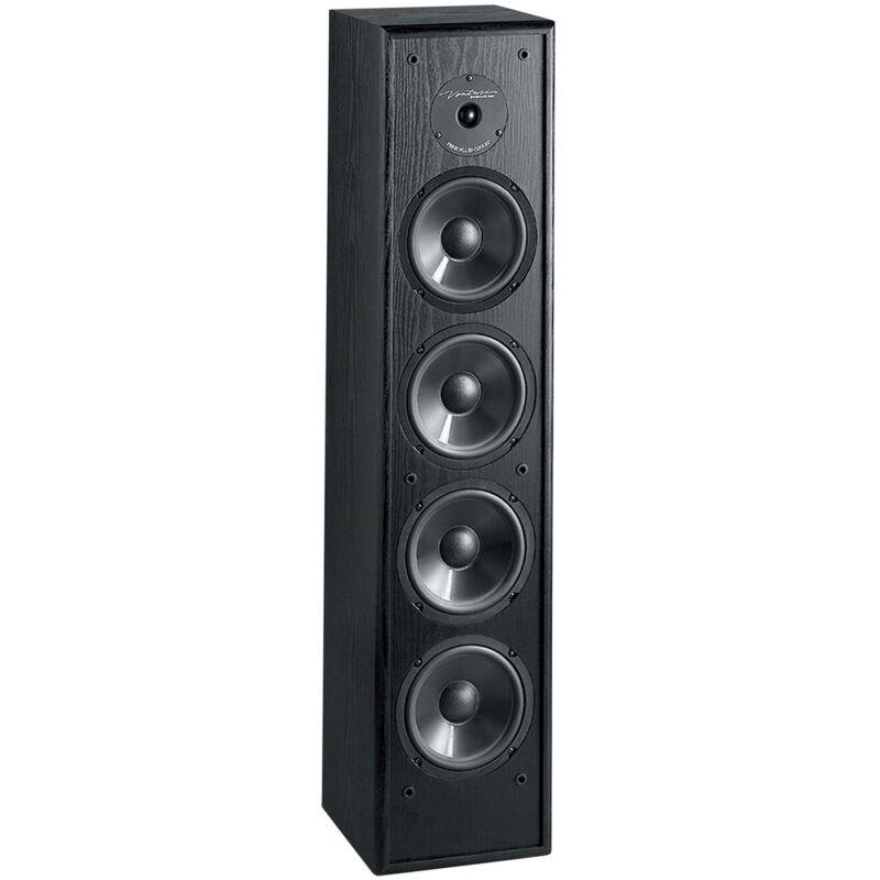 """BIC Venturi DV84 8"""" Tower Speaker Black"""
