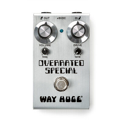 Way Huge Smalls Overrated Special Overdrive Guitar Pedal JD-WM28