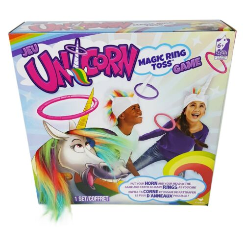 UNICORN Magic Ring Toss Game by Cardinal - New