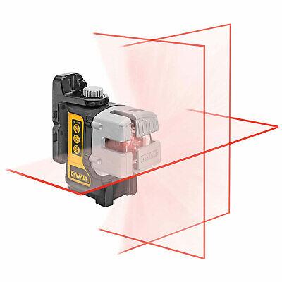 Dewalt Dw089 Self-leveling 3 Beam Line Laser With Bracket - Brand New No Case