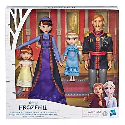 Disney Frozen 2 Arendelle ROYAL FAMILY 4-Doll Exclusive Set E8042 NIB/Sealed