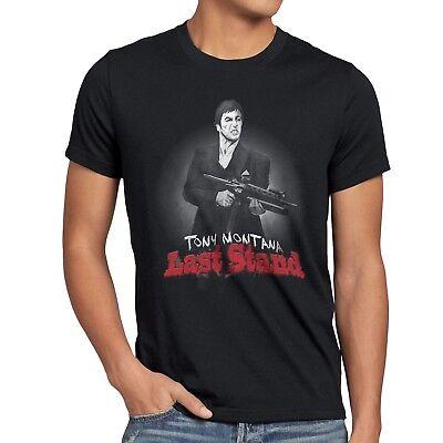 TONY MONTANA T-Shirt al pacino scarface pablo escobar toni kokain gangster m16