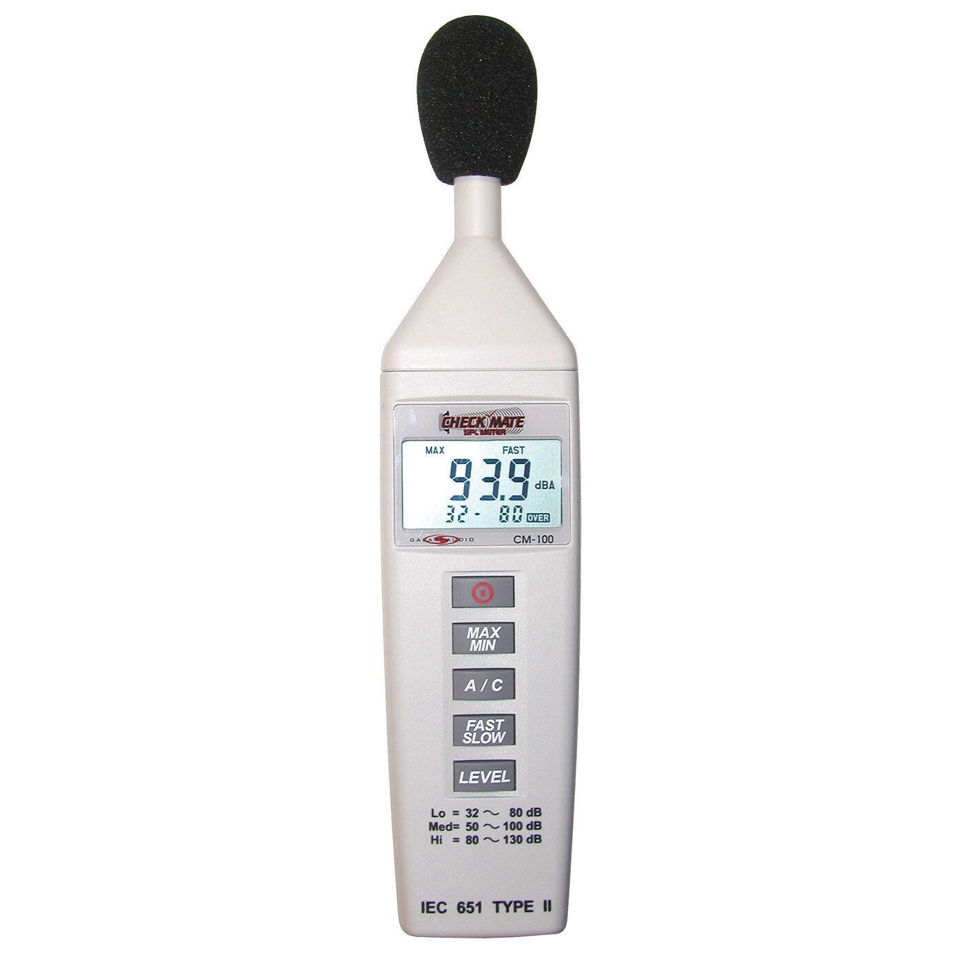 Galaxy Audio CM 80 Mini Handheld SPL Sound Pressure Level M FREE SHIPPING