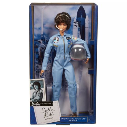 MATTEL Barbie: Inspiring Women: American Astronaut Sally Ride Collector Doll NEW