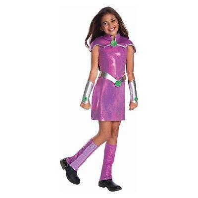Girls' DC Super Hero Girls Starfire Halloween Costume Small 4-6 Fits 3-4 Years