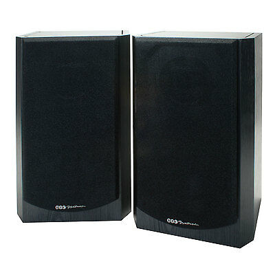"BIC Venturi DV62si Bl 6-1/2"" 2-Way Bookshelf Speaker Pair"