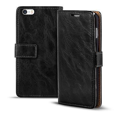 Klapphülle Apple iPhone 5C Hülle Schutzhülle Wallet Cover Schutz Flip Case ()