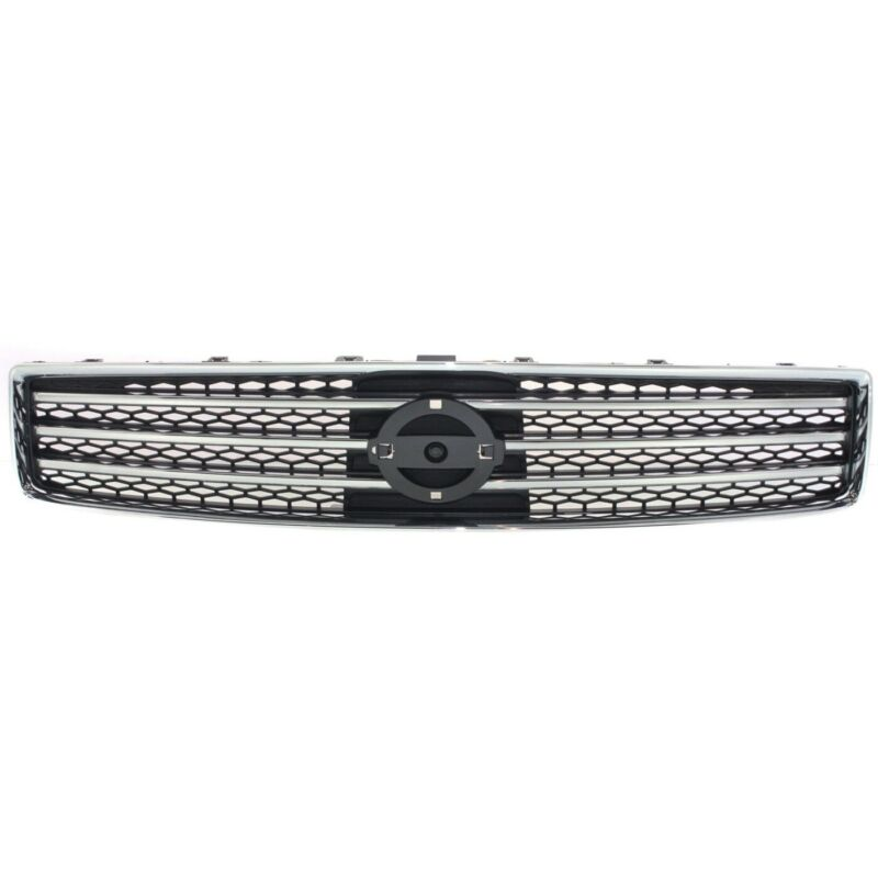 Grille Assembly Front Bright Chrome & Dark Gray for 09-11 Nissan Maxima New