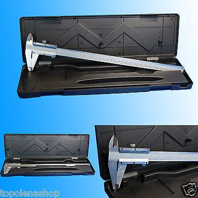 CALIBRO A CORSOIO IN ACCIAIO 0-300mm ANALOGICO MISURA PRECISIONE: 1/20 - 0,05 mm
