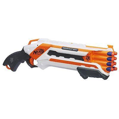 Nerf N-Strike Elite Rough Cut Dart Blaster Gun With 8 Darts