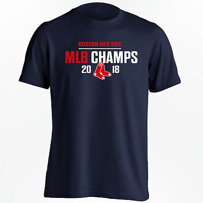 - Boston Red Sox 2018 Champions T-Shirt - MLB World Series Champs - Size S to 5XL