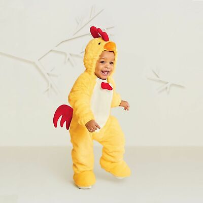 Plush Soft Chicken Easter Costume Hyde and Eek! New Jumpsuit Baby 0-6 Months  - Baby Chicken Costume