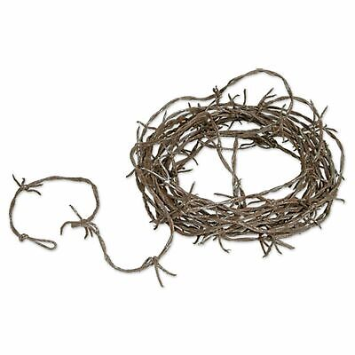 Dungeon Rusty Barbed Wire Garland