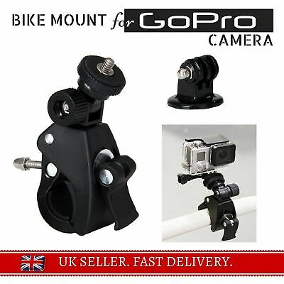 For 4GEE Action Cam Bike Handle bar Mount Bicycle Clamp +3 Ways Pivot For EE Cam