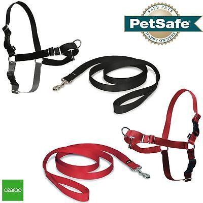 Easy Walk Dog Lead (PetSafe Dog Puppy Harness & Lead Non-Pull Collar Easy Walk, All Sizes)