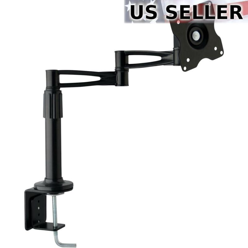 """Computer Monitor Desk Mount Articulating 3-Way Swivel Arm for LED / LCD 10-25"""""""