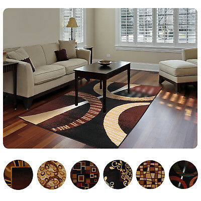 - Modern Contemporary Geometric Area Rug Runner Accent Mat Carpet