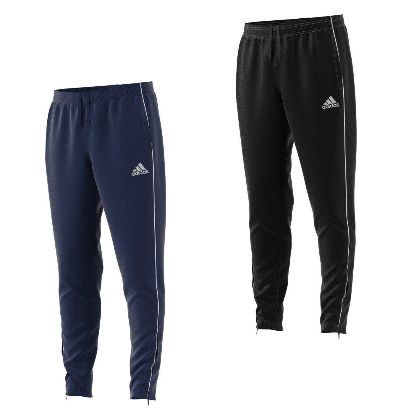 adidas Jogging Hose Herren Fußball Trainingshose lang verschließbaren Taschen