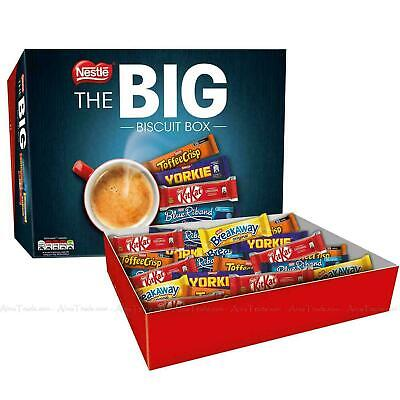 "Nestle ""The Big Biscuit"" Variety Box 71 Biscuits Bars - Vegetarian"
