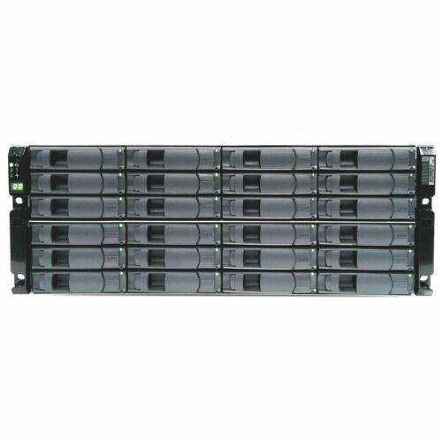 NetApp DS4246 NAJ-0801 24x SAS SATA Disk Array Shelf 2x IOM6 6Gbps 2x 580W