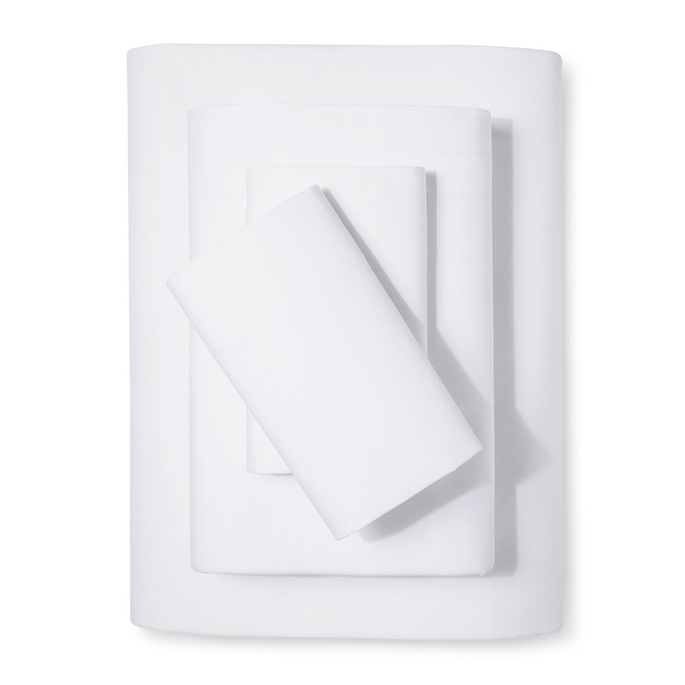 Easy Care Solid Sheet Sets - Room Essentials WHITE