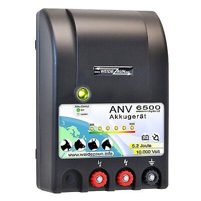 DUO POWER 12V-230V EXTRA STARK Batteriegerät Weidezaungerät Akkugerät Weidezaun