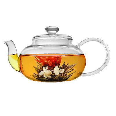 Primula 22 oz. Glass Teapot w/ Loose Leaf Tea Infuser and 2