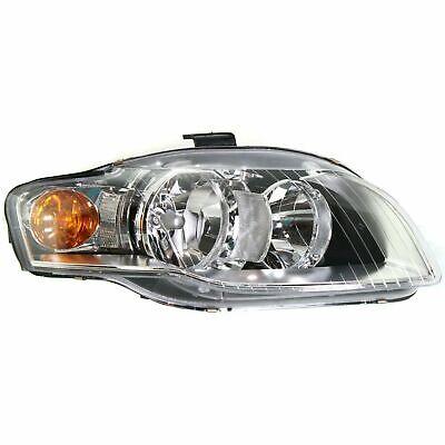 NEW 2005-2009 AUDI A4 S4 RS4 PASSENGER HEADLIGHT WITH BULBS AU2503128