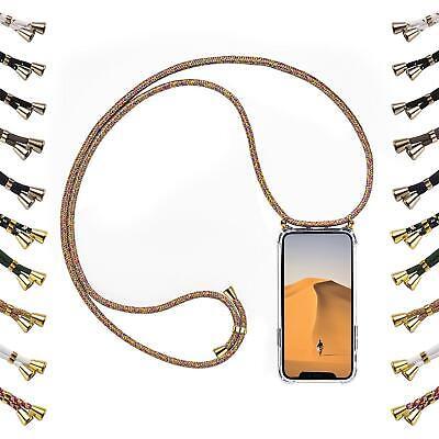- Band-handy (Handy Hülle inkl Band Handykette Schutzhülle Schnur Seil Kordel Case umhängen)