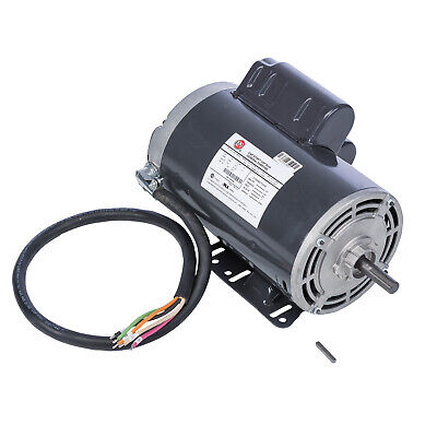 Ridgid 26237 120v 60hz Replacement Motor W Capacitor For 1224 Threading Machine