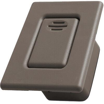 Rear Bucket - Folding Seat Latch Fits 00-07 GM Chevy Beige Rear Bucket Release Lock Button