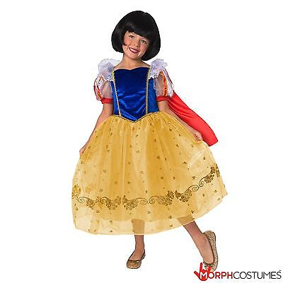 Girls Storybook Forest Deluxe Princess Fancy Dress Costume Halloween Book - Deluxe Storybook Princess Kostüm