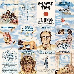 JOHN-LENNON-Shaved-Fish-2014-UK-180g-vinyl-LP-MP3-SEALED-NEW