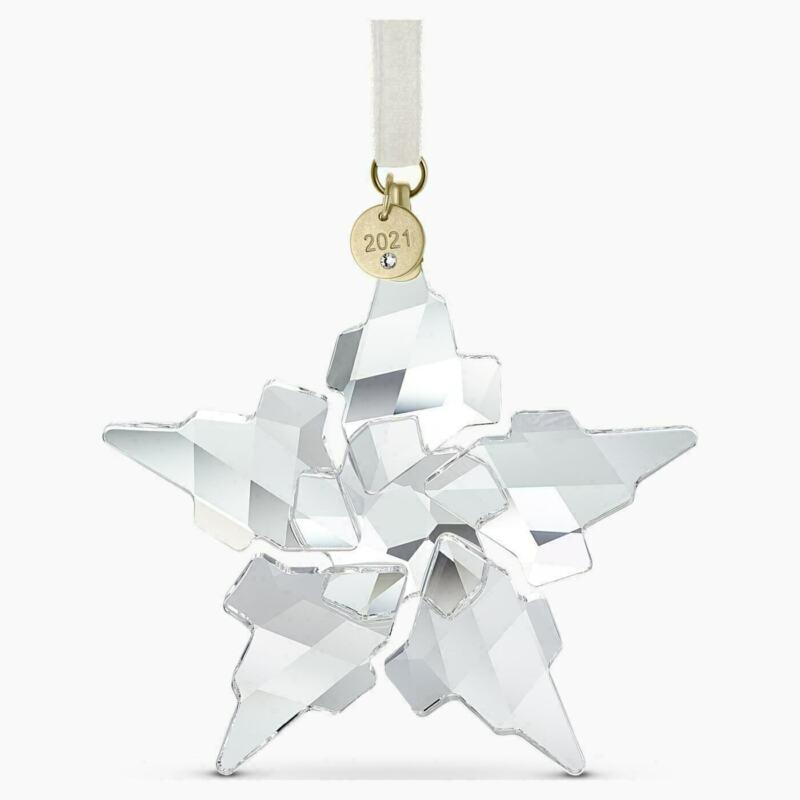 Swarovski crystal 2021 edition large Christmas decoration 5557796 genuine
