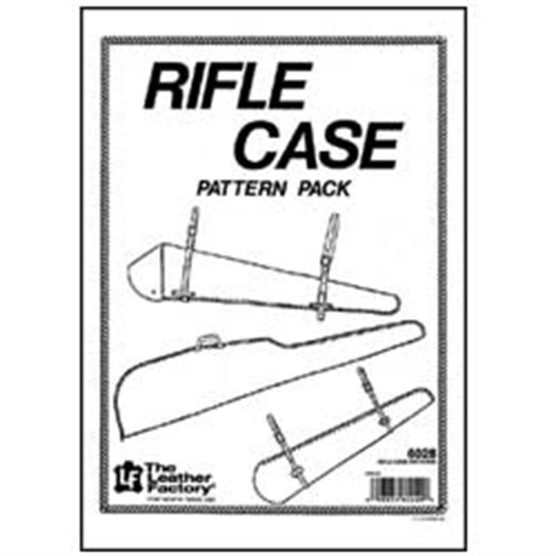 Rifle Case Pattern Pack 6028-00 by Tandy Leather