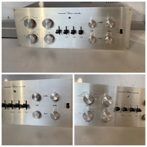 Marantz 7 Tube Preamplifier (please read)