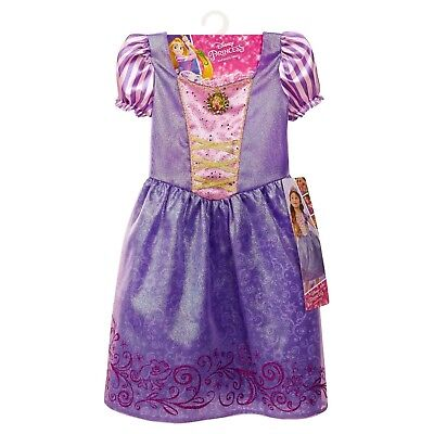 Disney Princess Rapunzel Dress Halloween Costume Dress-Up NWT Girls 4-6X](Princess Girls Costume)