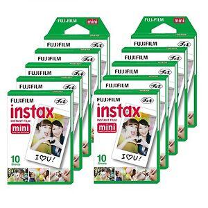 10-Packs-Fujifilm-instax-Mini-Film-100-Fuji-instant-photos-7s-8-90-Polaroid-300