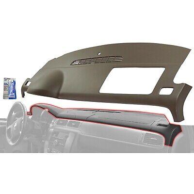 Dash Cover For 2007-2013 Chevrolet Silverado 1500 1-Piece Design Plastic