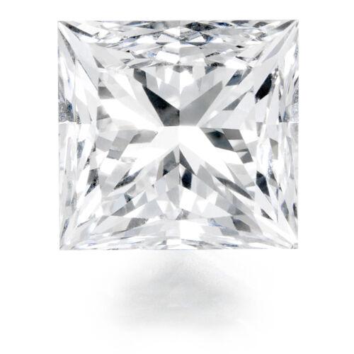 GIA Certified 1.00 Carats Princess Cut H Color VS2 Clarity Loose Diamond