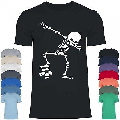 Royal Shirt df1 Herren T-Shirt Dabbing Skelett Fußball  | Dub Helloween Kostüm