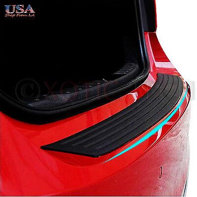 1X Car Trunk Suv Sill Plate Bumper Guard Protector Rubber Pad Cover Trim Cover