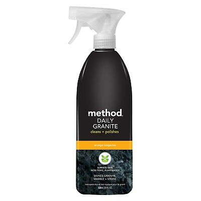 Method Cleaning Products Daily Granite Orange Tangerine Spray Bottle 28 fl oz
