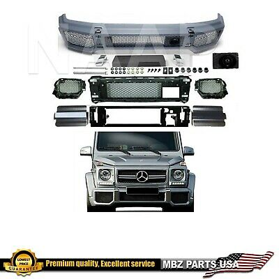 G63 FRONT BUMPER COVER KIT G-CLASS G-WAGON AMG BODY KIT G65 1990-2017 BRAND NEW ()