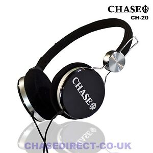 chase ch 20 stereo headphones for digital piano electric guitar earphone headset ebay. Black Bedroom Furniture Sets. Home Design Ideas