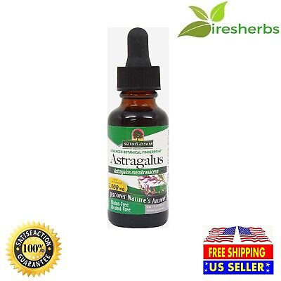 ASTRAGALUS ROOT LIQUID EXTRACT 2,000 MG ALCOHOL FREE HERBAL SUPPLEMENT 1 FL OZ ()