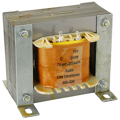 70v 200w High Power Line Matching Transformer