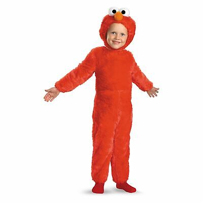 Disguise Toddler Boys/Girls 2/2T Sesame Street Elmo Faux Fur Halloween