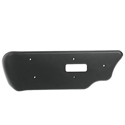 Power Seat Adjuster Switch Panel Trim Panel for Front Left Driver Side Black