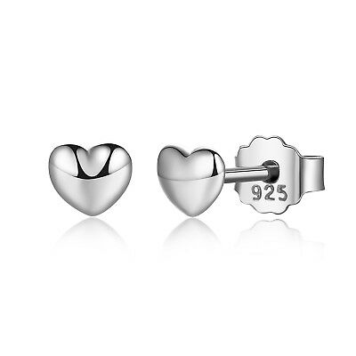 Platinum Plated Charm - Voroco New 925 Sterling Silver Platinum Plated Earrings Charm For Beauty Women